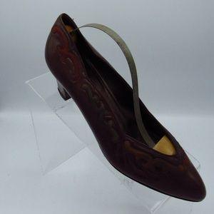 Bally Womens Shoes Size 7.5 M Pumps Heals Vintage